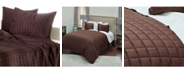 Rizzy Home Riztex USA Satinology Full/Queen 3 Piece Quilt Set