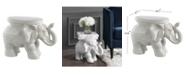 Furniture White Garden Stool