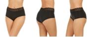 Calvin Klein Women's Lace Trim Hipster Underwear QD3781