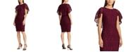 Lauren Ralph Lauren Cape-Overlay Lace Dress, Created For Macy's