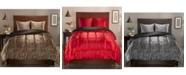 Elite Home King Luxury Satin Reversible 3-Pc. Comforter Set