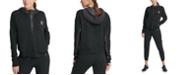 DKNY Sport Half-Zip Fleece Hoodie
