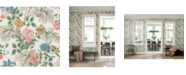 "Wall Vision 21"" x 396"" Carnation Garden Floral Wallpaper"