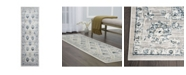 "Christian Siriano New York CLOSEOUT! Christian Siriano Surface Berkshire Cream 2'2"" x 7'2"" Runner Area Rug"