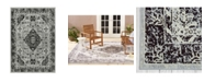"Nicole Miller Patio Starlight Willow Gray 5'2 x 7'2"" Area Rug"