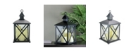 Northlight Candle Lantern with 3 Flameless LED Candle