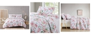 Pem America Cottage Classics Blooms Floral Seersucker Comforter Set