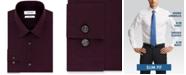 Calvin Klein Men's Steel Slim-Fit Non-Iron Stretch Performance Print Dress Shirt