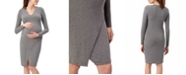 Stowaway Collection Maternity Stowaway Collection Lenox Maternity Dress