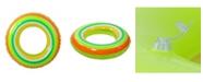 """Northlight 35"""" Inflatable Stripe Swimming Pool Inner Tube Ring Float"""