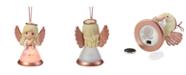 Ne'Qwa Precious Moments Rejoice In God Resin And Glass LED Angel Ornament