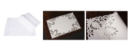 """Xia Home Fashions Wilshire Embroidered Cutwork Placemats, 14"""" x 20"""", Set of 4"""