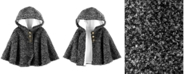 Carter's Baby Girls Hooded Faux-Fur-Lined Cape