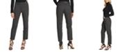 DKNY Foundation Slim-Fit Straight-Leg Pants