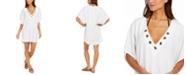 Michael Kors Grommet Tunic Swim Cover-Up