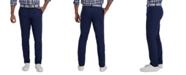 Haggar Men's Slim-Fit Motion Khaki Straight Flex Waistband Casual Pants