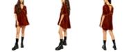 Free People Ivy Velvet Mini Dress