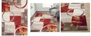 "Main Street Rugs Home Alba Alb307 Multi 5'3"" x 7'3"" Area Rug"