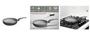 """Amercook Aluminum Round Deep Fry Pan, Skillet with Induction Buttom 8.7"""""""