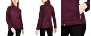 Calvin Klein Diamond-Stitch Fleece Jacket