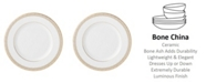 Lenox Lace Couture Gold Salad Plate