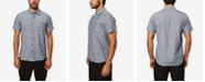 O'Neill Men's Blip Print Short Sleeve Shirt