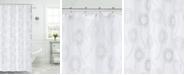 L'AUBERGE Dandelion Shower Curtain With Lurex