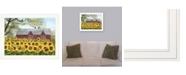 "Trendy Decor 4U Sunshine by Billy Jacobs, Ready to hang Framed Print, White Frame, 27"" x 21"""