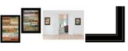"Trendy Decor 4U Trendy Decor 4U Today Is 2-Piece Vignette by Marla Rae, Black Frame, 15"" x 21"""