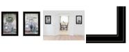 "Trendy Decor 4U Where There is Love 2-Piece Vignette by Lori Deiter, Black Frame, 15"" x 21"""
