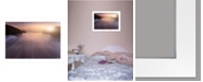 """Trendy Decor 4U Trendy Decor 4U The Future by Moises Levy, Ready to hang Framed Print, White Frame, 21"""" x 15"""""""
