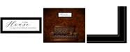 "Trendy Decor 4U A Clean House by Lori Deiter, Ready to hang Framed Print, Black Frame, 23"" x 11"""