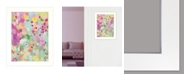 """Trendy Decor 4U Trendy Decor 4U Mind in Repose I by Kait Roberts, Ready to hang Framed Print, White Frame, 15"""" x 19"""""""