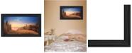 "Trendy Decor 4U A New Day By Lori Deiter, Printed Wall Art, Ready to hang, Black Frame, 20"" x 11"""