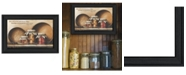 """Trendy Decor 4U Blessings and Prosperity By John Rossini, Printed Wall Art, Ready to hang, Black Frame, 21"""" x 15"""""""