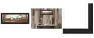 "Trendy Decor 4U To Everything By John Rossini, Printed Wall Art, Ready to hang, Black Frame, 8"" x 20"""