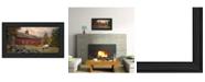 "Trendy Decor 4U The Lone Gazer By Robin-Lee Vieira, Printed Wall Art, Ready to hang, Black Frame, 20"" x 11"""