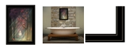"""Trendy Decor 4U Path of Happiness by Martin Podt, Ready to hang Framed Print, Black Frame, 15"""" x 21"""""""