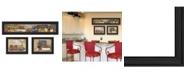 "Trendy Decor 4U Trendy Decor 4U Kitchen Collection By Pam Britton, Printed Wall Art, Ready to hang, Black Frame, 78"" x 15"""