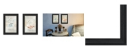 """Trendy Decor 4U Love Collection By Mollie B., Printed Wall Art, Ready to hang, Black Frame, 14"""" x 8.5"""""""
