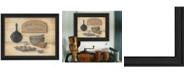"Trendy Decor 4U Good Friends By Pam Britton, Printed Wall Art, Ready to hang, Black Frame, 19"" x 15"""