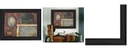"Trendy Decor 4U Trendy Decor 4U Tin Sconce By Pam Britton, Printed Wall Art, Ready to hang, Black Frame, 19"" x 15"""