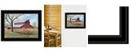 "Trendy Decor 4U Trendy Decor 4U Summer's End by Billy Jacobs, Ready to hang Framed Print, Black Frame, 19"" x 15"""