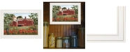 """Trendy Decor 4U Summer Days by Billy Jacobs, Ready to hang Framed Print, White Frame, 15"""" x 11"""""""