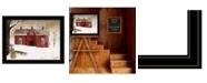 "Trendy Decor 4U New Fallen Snow by Billy Jacobs, Ready to hang Framed Print, Black Frame, 27"" x 21"""