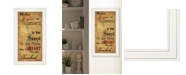 """Trendy Decor 4U Sound of the Soul by Billy Jacobs, Ready to hang Framed Print, White Frame, 15"""" x 27"""""""