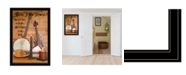"Trendy Decor 4U Music by Billy Jacobs, Ready to hang Framed Print, Black Frame, 23"" x 33"""