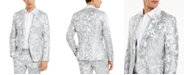 INC International Concepts I.N.C. Men's Slim-Fit Embroidered Floral Jacquard Suit Jacket, Created For Macy's