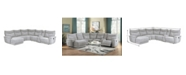 Homelegance Talbot 6pc Sectional Sofa w/ Recliner & Chaise