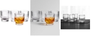 Hotel Collection Fluted Double Old-Fashioned Glasses, Set of 4, Created For Macy's
